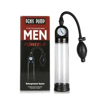 Wholesale vibrator vacuum sex toy for sale - Group buy Training Sex Toy For Men Electric Penis Pump Vibrator Vacuum Penis Enlarger Sleeve Delay Ejaculation Male Sex Tool Silicone Cap Y18102606