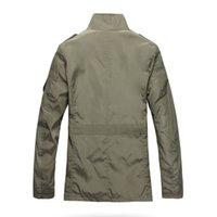 koreanische jacken verkaufen großhandel-Getäfelten Polyester Mode dünne Männer Jacke Mantel heißer Verkauf Freizeitkleidung 5xl koreanischen Komfort Herbst Mantel notwendig Frühling Mantel