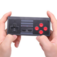 Wholesale nes mini controller for sale - Group buy Wireless Game Controller for NES Classic Edition Gamepad for NES Mini Button Controller With Wrireless Receiver DHL FEDEX EMS