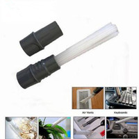 Wholesale Flexible Tubes - Vacuum Cleaner Dust Dirt Brushes Remover Universal Dust Daddy Brush Tubes Flexible Access to Anywhere For Corners CCA9320 100pcs