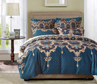 European Style 3 pcs Bedding Set Bed clothes Duvet Cover Pillow Case Queen and King Size