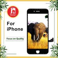 iphone 4s tam ekran değiştirme toptan satış-1 Adet LCD Ekran Dokunmatik Digitizer Komple Ekran Tam Meclisi Değiştirme iPhone 4 4 S 5 5 S SE 6 6 P 6 S 6SP 7 7 P 8 Artı
