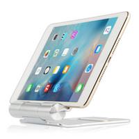 alumínio do carrinho do ipad venda por atacado-Tablet PC Stands stent de metal suporte de mesa para ipad air 2 ipad mini 1 2 3 4 display gabinete liga de alumínio 7.9