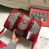 Wholesale Girls Bow Tie Fashion - 2018 Luxury Guccx designer 3colors pillow Handbags lady girl backpack backpacks Women Bags Fashion Shoulder high quality PU wallet 180126017