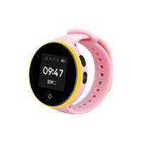 relógios antigos venda por atacado-S668A crianças impermeável Tela Redonda Android Relógio de pulso pedômetro SOS Monitoramento Remoto Para Kid Velho entregas Assista livre DHL