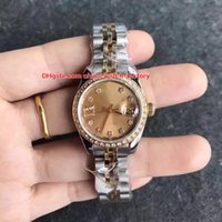Wholesale Gem Quality Diamonds - 8 Style Luxury High Quality Watch 28mm President Diamond 279161 178343 279174 279160 279173 Mechanical Automatic Ladies Women's Watches