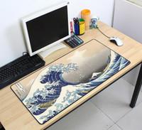 pc için oyun yastığı toptan satış-Özel Büyük mouse pad 700x400mm hız Klavyeler Mat Kauçuk Oyun mousepad Masa Mat oyun oyuncu Masaüstü PC Bilgisayar Laptop için