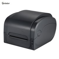 Wholesale Printer Office - Gprinter Thermal Transfer Receipt Printer Barcode Label Printer 104mm Print Width USB Interface for Warehouse Retail Post Office