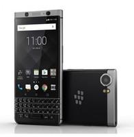 Wholesale blackberry cell phones original for sale - Group buy Refurbished Original Blackberry KEYone Unlockde Cell Phone Octa Core Ram GB ROM GB MP Single Sim G Lte