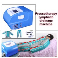 Wholesale wholes bags for sale - Group buy Professional Air Bags Pressotherapy Machine With Shoulder Stripes And Sleeves For Lymph Drainage Whole Body Massage Body Slimming Machine