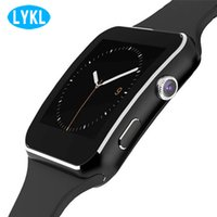 x6 toque venda por atacado-X6 smart watch com suporte da tela de toque da câmera sim tf cartão smartwatch monitor de sono para xiaomi android phone