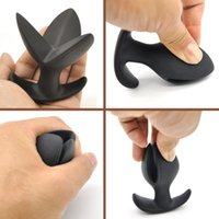 Wholesale Sex Toy For Women Anal - Soft Silicone V Port Anal Plug Erotic Toys, Opening Butt Plug Anal Speculum Prostate Massage Sex Toys for Men Woman Gay A313