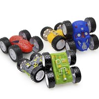 Wholesale toy cars for children online - 4 Types Model Cars Extra Large Toy Car For Children Four Drive Inertia Two Sided Tipping Bucket Car Hot Sale bd X