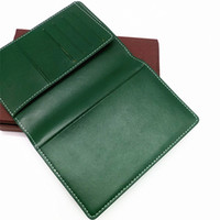Wholesale long chocolate for sale - NewTOP Quality passport cover France Paris style Designer classic men women famous Luxury passport holder covers ID card holder with box