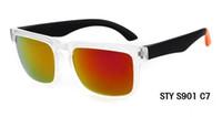 lentes espião venda por atacado-Marca Designer Ken Spied Block Capacete Óculos De Sol Revestimento Multicor Lente Dos Homens Oculos De Sol Óculos De Sol 21 Cores
