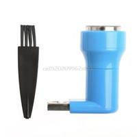 Wholesale Usb Shaver - 2-In-1 Mini Portable Micro USB & USB Shaver Men Electric Razor For Android Phone #H029#