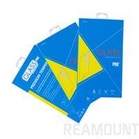 projetos de vidro de papel venda por atacado-Personality design diy pacote de embalagens de papel colorido para iphone 7 7p protetor de tela de vidro temperado para samsung note8