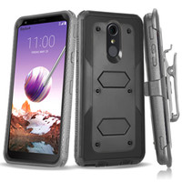 Wholesale Robot Armor Case For LG G5 Stylo Plus K10 V20 V30 X Style G6 G7 G7 ThinQ LV5 LV3 K4 X Power LV9 Aristo Heavy Duty Cover