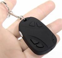 mini kamera tuşu toptan satış-Mini araba anahtar zinciri Kamera DVR taşınabilir mini araba anahtarı ses video kaydedici ev güvenlik Gözetim kamera 808