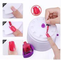 conjunto de manicure uv gel venda por atacado-Manicure Set Prego Conjunto de Extensão Para Manicure Gel Unha Polonês Nail Art Define Manicure Soak Off UV Gel