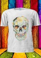 esqueleto de mariposa al por mayor-Butterfly Skull Skeleton Tumblr Camiseta Chaleco Tank Top Hombres Mujeres Unisex 1448