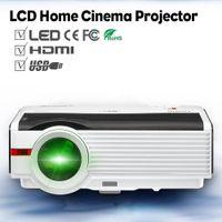 projeções de video venda por atacado-CAIWEI LCD HD 1080 P LED Projetor Home Assistindo Filme Jogo de Vídeo Projeção Família Grande TV Theater Beamer com HDMI VGA USB
