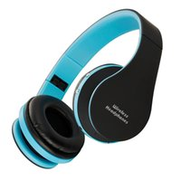 Wholesale headphones microphone for laptop for sale - Group buy Bluetooth Headphones Foldable Headphones Wireless Bluetooth Headsets with Microphone and Volume Control for Cellphones Iphone TV Laptop Blue