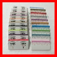 поддельные глаза оптовых-Известные накладные ресницы 20 моделей наращивание ресниц ручной работы поддельные ресницы объемные поддельные ресницы для ресниц макияж бесплатная доставка