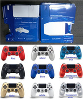 jeu vidéo ps4 achat en gros de-NOUVEAU Contrôleur de jeu sans fil PS4 pour contrôleur de jeu PlayStation 4 PS4 Manette de jeu Joystick Joypad pour jeux vidéo DHL
