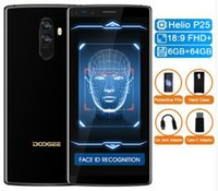 Wholesale smartphones resale online - DOOGEE Original Mix2 Android mAh FHD Helio P25 Octa Core Smartphones Quad Camera MP GB RAM GB ROM