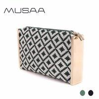 ingrosso tessuto di tessuto di diamanti-Pochette da sera da donna vintage MUSAA in tessuto di cotone stile bohemia di alta qualità