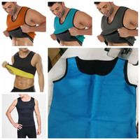 d1c75c7b19406 6styles Body Shaper Men Slimming Vest sport Neoprene Abdomen Fat Burning Shaper  Vest Waist Sweat Corset Weight Loss Sweat T-Shirt FFA868