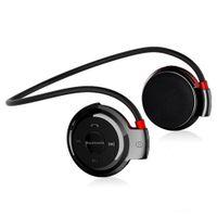 ingrosso radio radio auricolare stereo bluetooth-Cuffia SOVO Bluetooth Lettore MP3 Cuffia senza fili Sport Lettore MP3 con radio FM Auricolare Stereo TF Card MP3 Max a 32 GB
