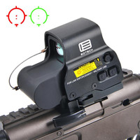 Wholesale 2018 NEW Holographic Red Green Dot Sight Scope T dot Tactical Reflex sight with mm rail