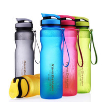 Wholesale bicycle water bottle red - Safe Portable Sport Water Bottle 1000ml 600ml Outdoor Space Bicycle Drinking Water Bottles With Tea Infuser DA643