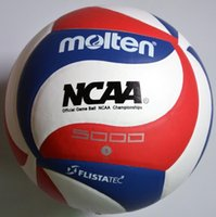 Wholesale volleyball ball online - or retail Official GAME BALL Size PU Volleyball Soft Touch V5M5000 Training Volleyball