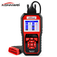 Wholesale scanner for auto - KONNWEI KW850 OBD2 OBD 2 Automotive Scanner Universal Scan tool for Engine Auto Code Reader Diagnostic Tool