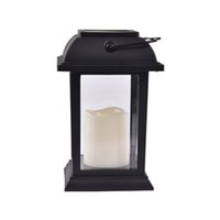 Wholesale outdoor candles lanterns - Ouge Star Solar Candle Lantern Vintage Outdoor Lamp Warm White LED Garden Lights Yard Decoration With Ni-Mh Battary Recyle Lamp