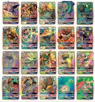 cartes garçons achat en gros de-Nouvelle collection de 200 cartes 170GX + 20energy + 10trainer de cartes mignonnes ensemble de cartes Mega poker cards Toys Version anglaise pour jeux de filles et de garçons