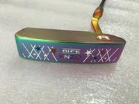 eje de calidad al por mayor-Palos de golf de calidad SUPERIOR ciruela ENZO golf putter con tapa y eje clubes de golf envío gratis