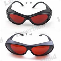 Wholesale Laser Glasses Green - SK-1 190-540nm 514nm,515nm,520nm,532nm UV Blue Green Laser Protective Goggles Safety Glasses CE OD4+ OD5+