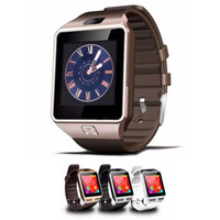 gsm uhr für kinder großhandel-DZ09 Bluetooth Smart Uhr GSM SIM-Kamera für iPhone Samsung Android-Handy Intelligente Handyuhr kann den Schlafstatus Smart aufzeichnen