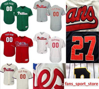 Wholesale dryer pa for sale - 2019 CUSTOM Pa Phillies Mens Women Youth Customized Majestic Stitched Baseball Jerseys Personal name Person number SIZE S XXXL