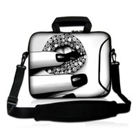 Wholesale 12 laptop shoulder bag - Charming Women Handlebag Fashion 10 12 13 14 15 17 Laptop Messenger Carry Bag Neoprene Shoulder Strap Cover Bags Cases Pouch