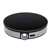 ingrosso proiettore wifi 3d android-Mini proiettore D8S Android 2.4G 5G Wifi Bluetooth 4.0 4K 3D Proyector LED portatile Cinema Beamer Supporto Airplay Miracast