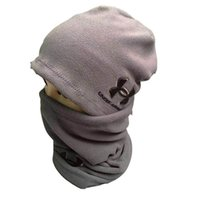Wholesale chiffon scarves for sale - Women Men Brand UA hats scarf Winter under Knitted Hat neck collar Scarves autumn Warm Hedging Skull Caps neckerchief Hand Cap armor