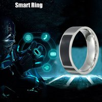 Wholesale Mobile Phone Technologies - Fashion Stainless Steel NFC Smart Wearable Ring New Technology For Windows IOS Android Mobile Phone high quality
