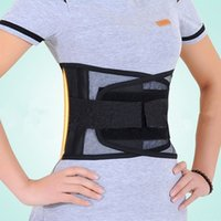 self heating magnetic therapy waist Australia - Adjustable Waist Tourmaline Self heating Magnetic Therapy Back Waist Support Belt Lumbar Brace Massage Band Health Care
