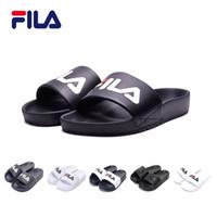 fa0e591bd2d2c FILA Slippers DRIFTER Drifting Series Men women lady beach sandals slippers  Sports casual shoe wear-resistant FILA mens slippers size 36-44