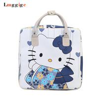 83633441856b girls hello kitty shoulder bag Australia - Hello Kitty Travel bag